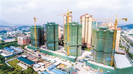 开平市近年来不断加大扶持力度,助推建筑产业实现跨越发展。